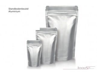 STANDBODENBEUTEL Aluminium 210x310