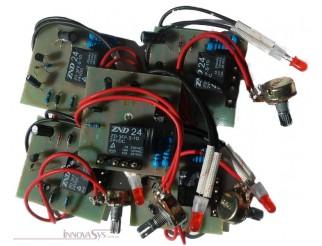Steuerplatine für Serie TFS mit Potentiometer und LED